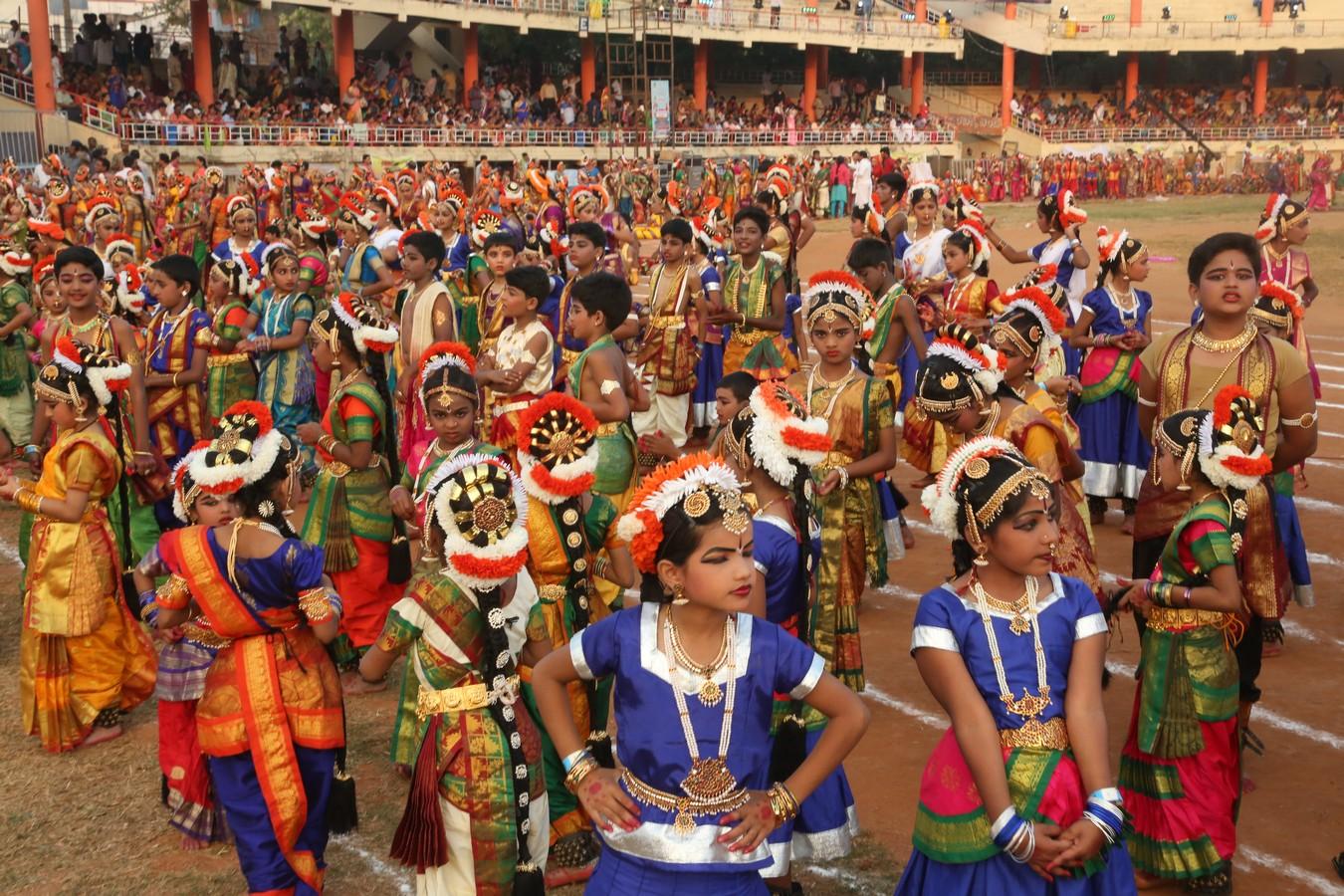 SiliconAndhra International Kuchipudi Dance Convention - Mahabrinda Natyam